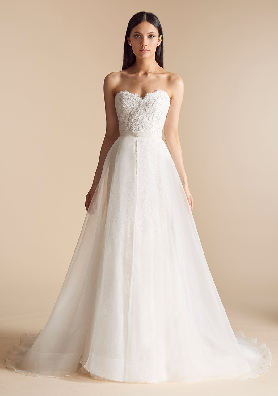 Allison Webb Devereaux Two Piece Wedding Dress
