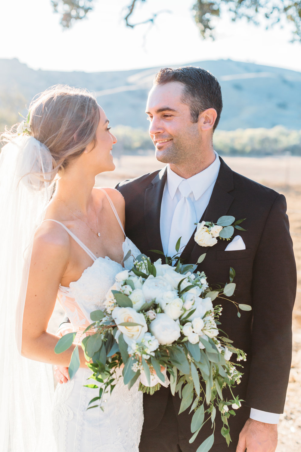 Sweet Ranch Wedding with the Danni Dress from Made With Love Bridal