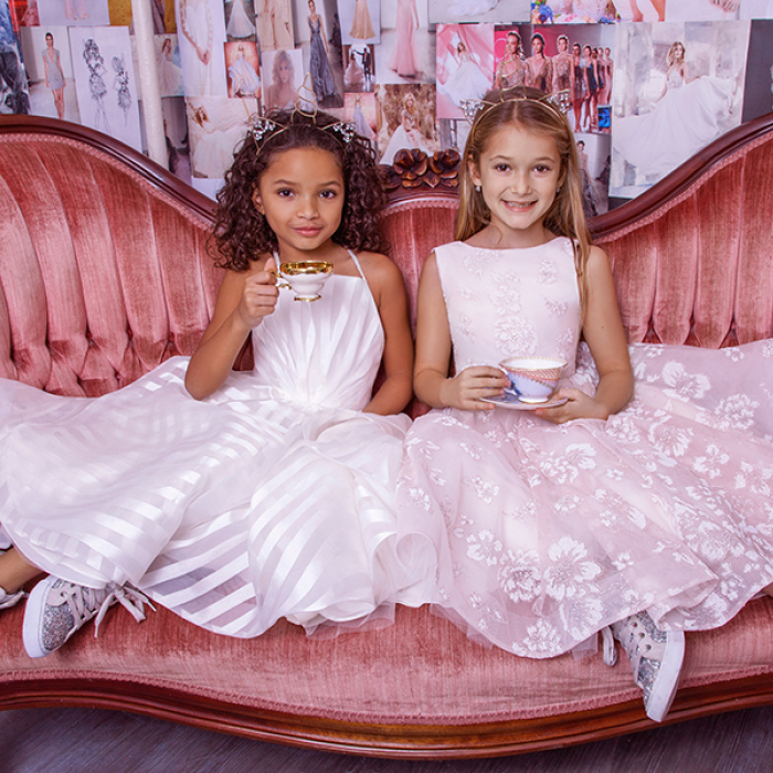 La Petite Hayley Paige Flower Girl Dress Collection