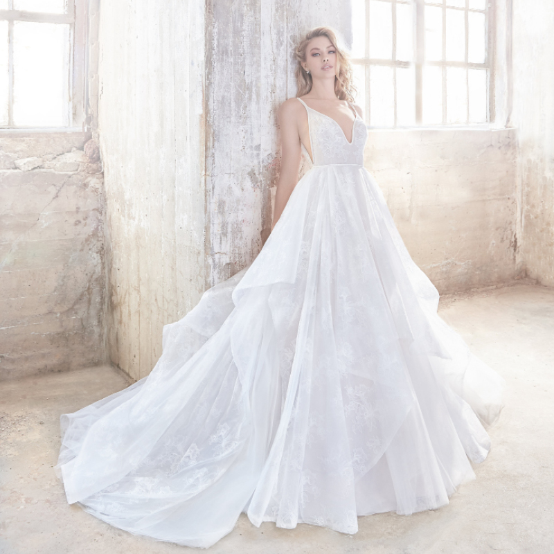 Hayley Paige Kellan Spring 2018 Wedding Dress