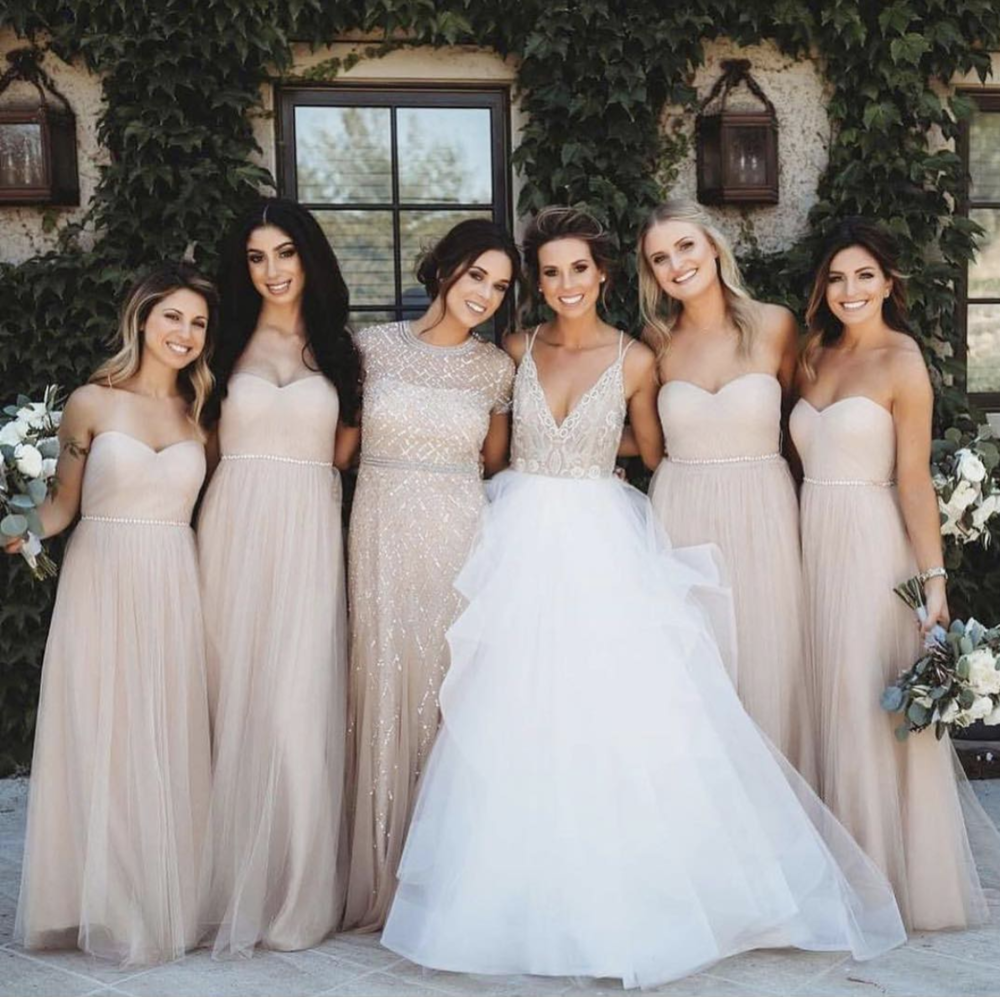 Luxury Winery Wedding Day with a Custom Hayley Paige Gown