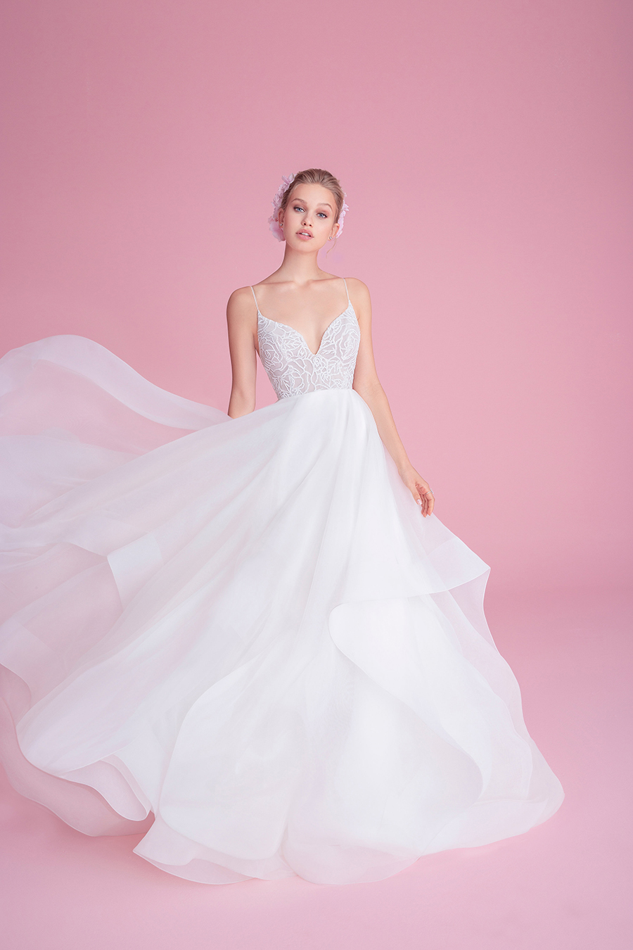 Blush by Hayley Paige Perri Fall 2018 Wedding Dress