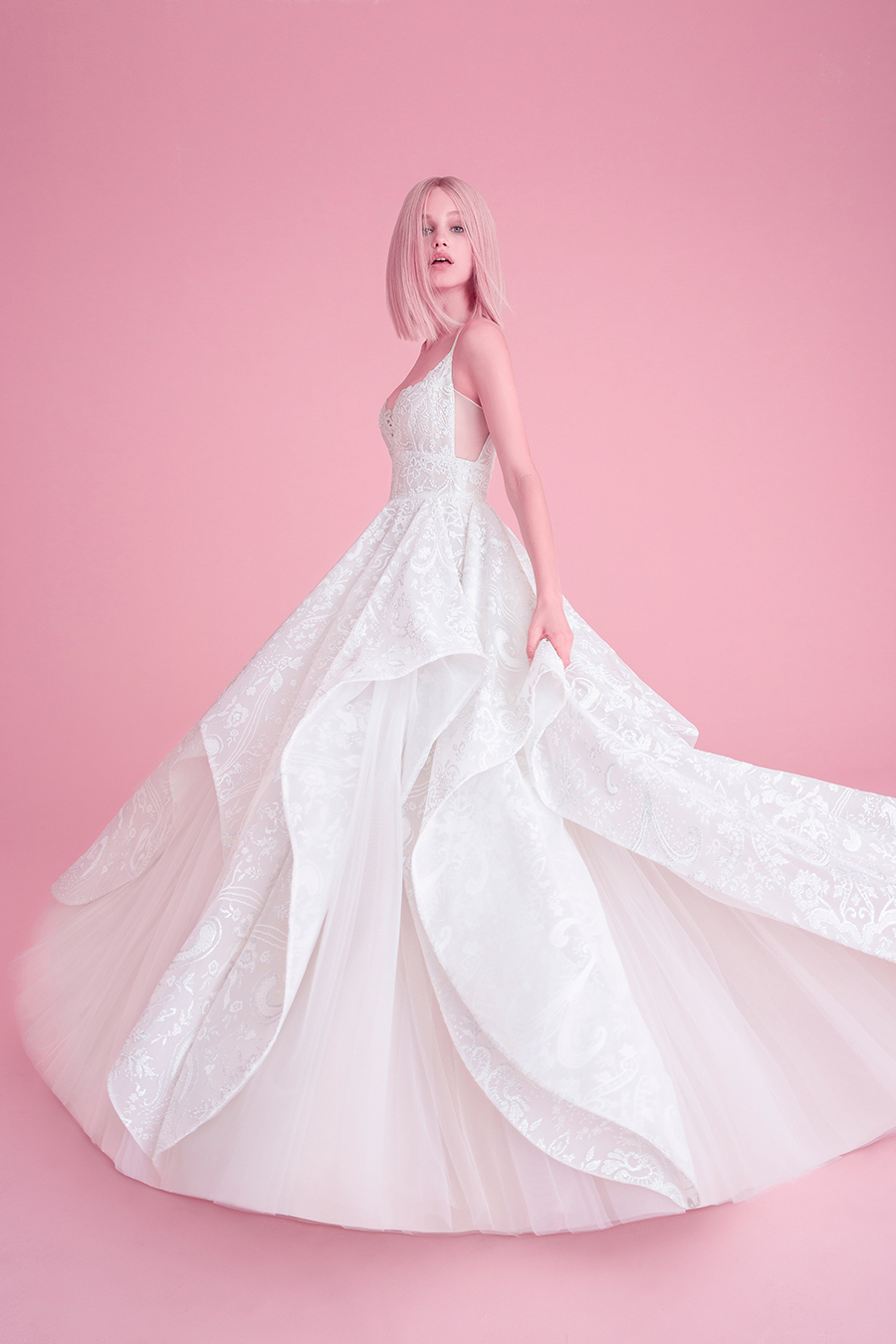 Hayley Paige Fall 2018 Markle Wedding Dress