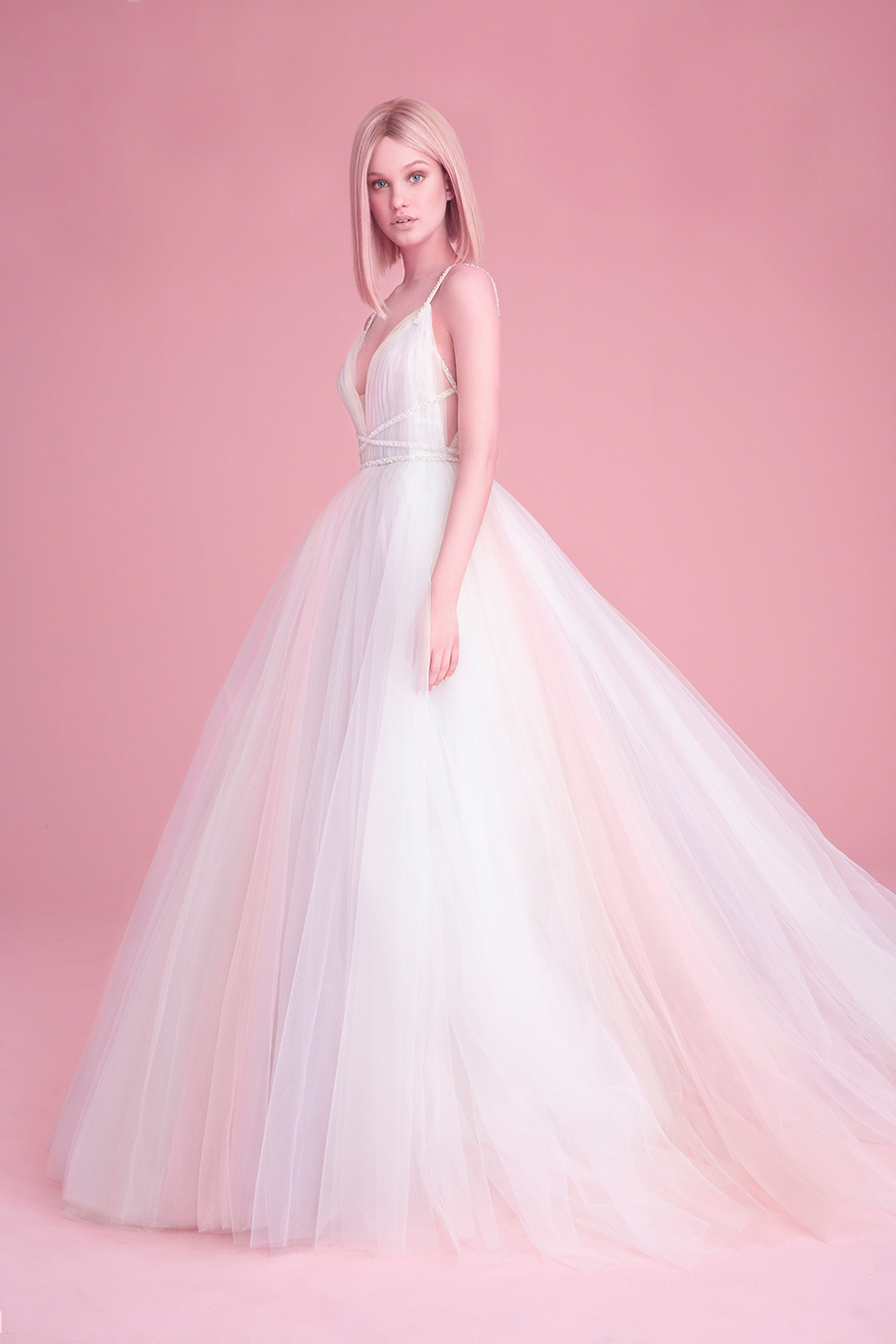 Hayley Paige Fall 2018 Costello Wedding Dress