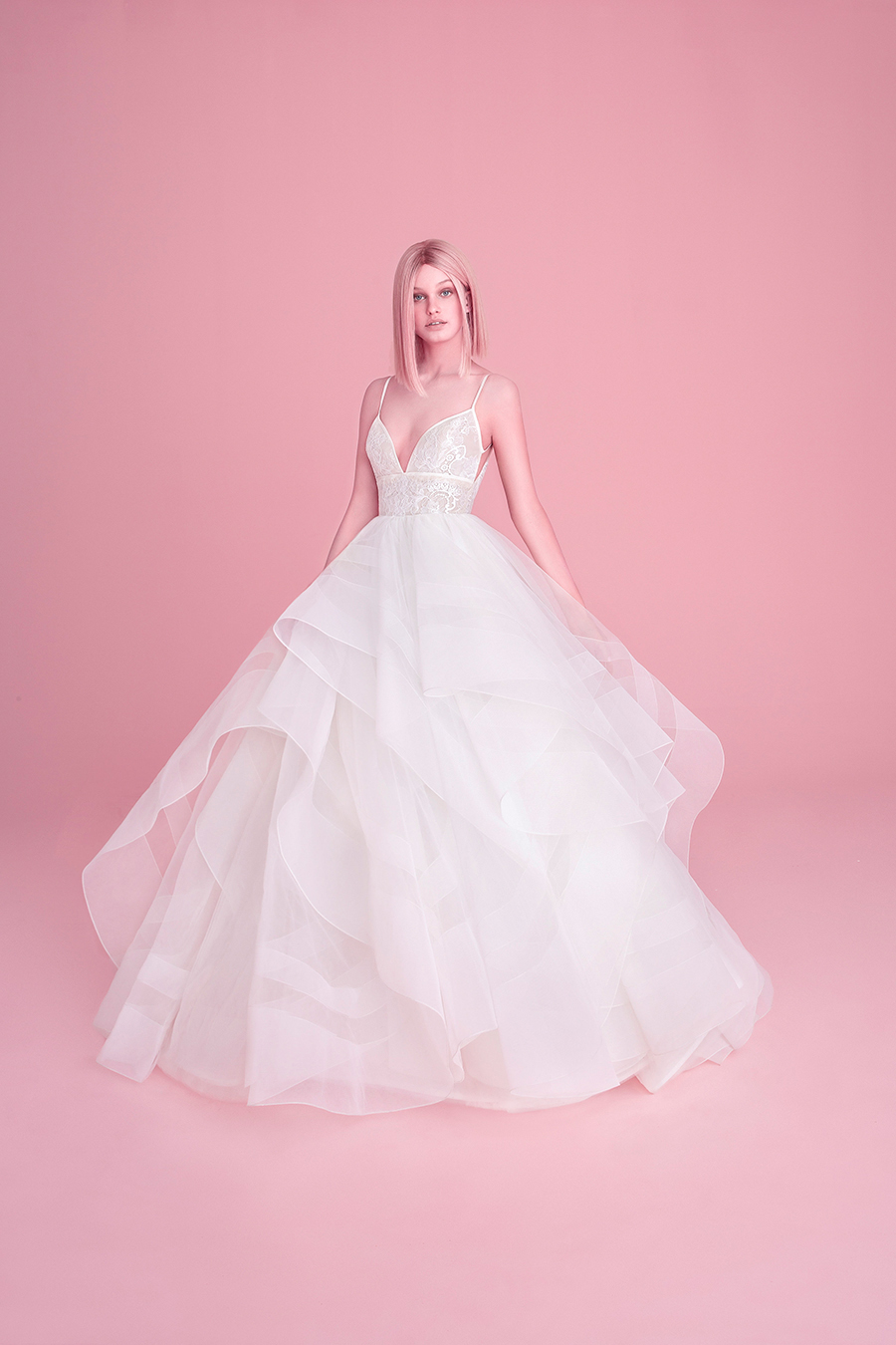 Hayley Paige Fall 2018 Aldridge Wedding Dress