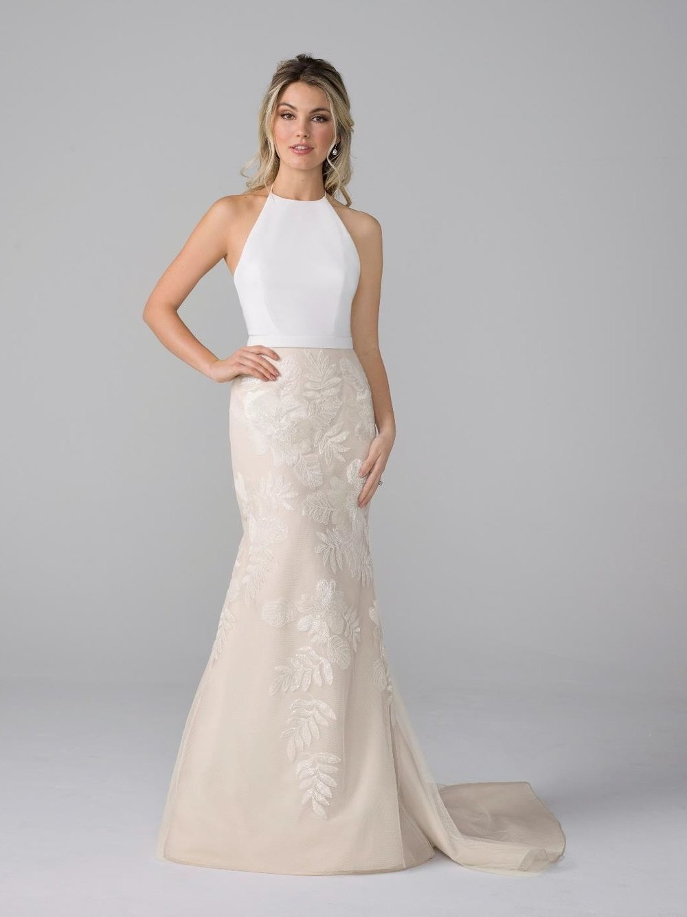 Azul by Liancarlo - Fiona (Haute Bride sample in All Ivory)
