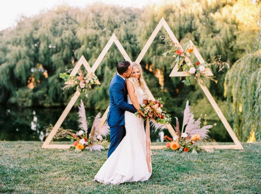 Boho Glam Ranch Wedding Day in California