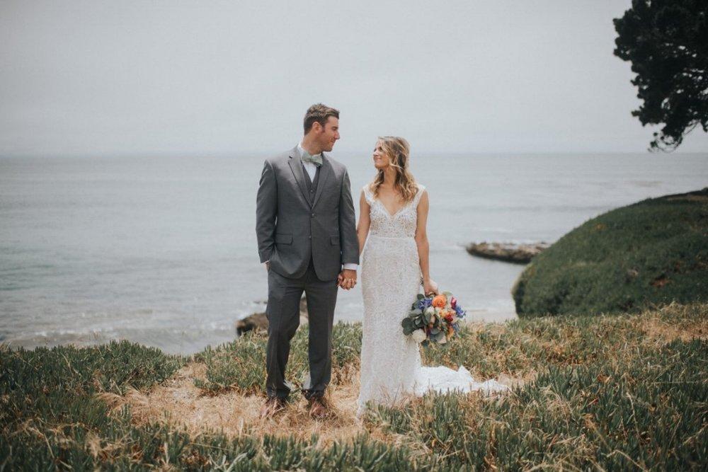 Coastal Wedding Photos in Santa Cruz