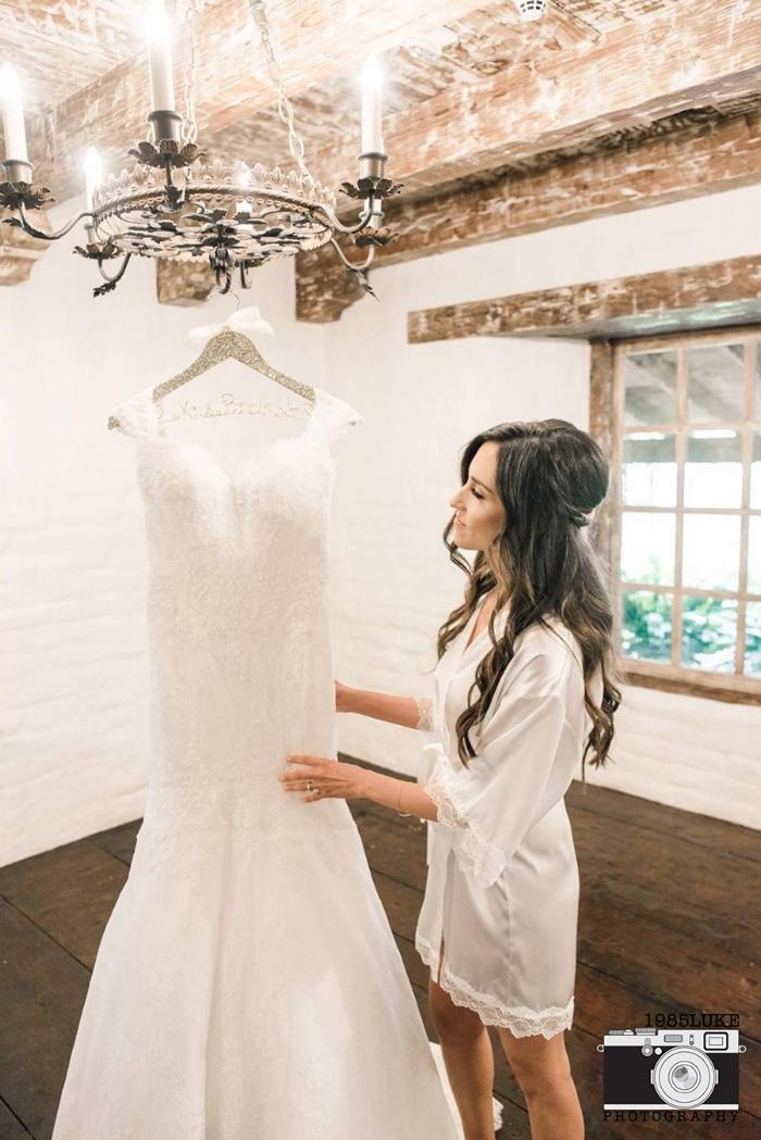 Glamorous Off the Shoulder Wedding Dress