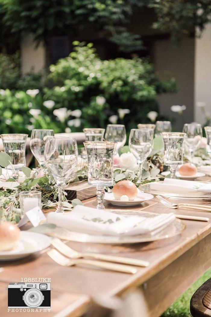 Romantic Rustic Farm Table Wedding