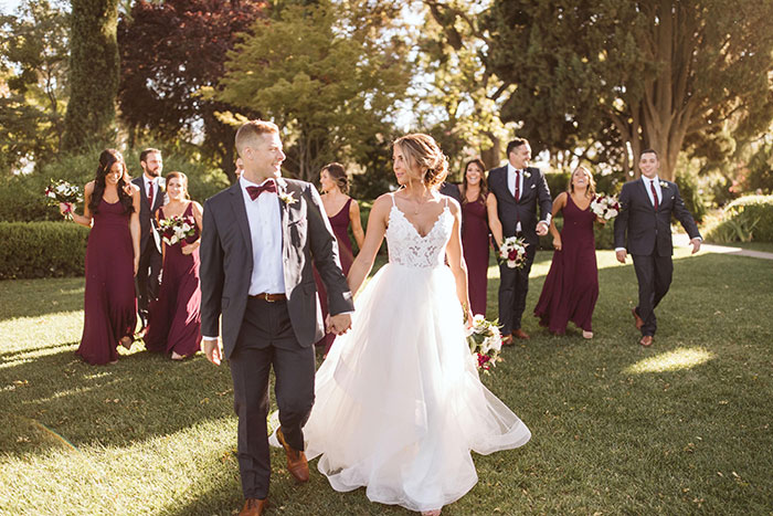 Stunning Wedding Day at Park Winters with Hayley Paige and Haute Bride