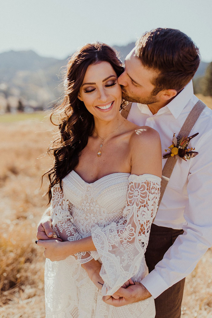 Boho Wedding Style with Bachelorette Becca and Garrett