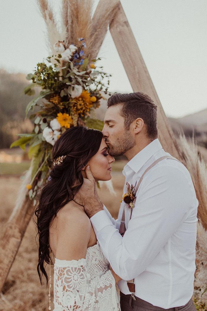 Boho Wedding Ceremony Style