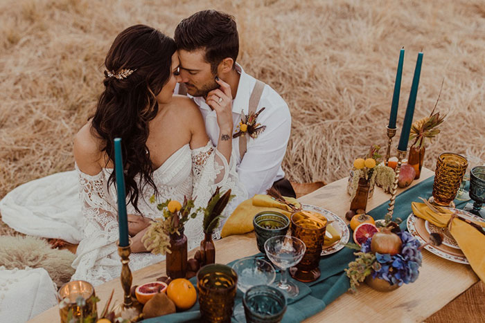 Intimate Bohemian Wedding Ideas