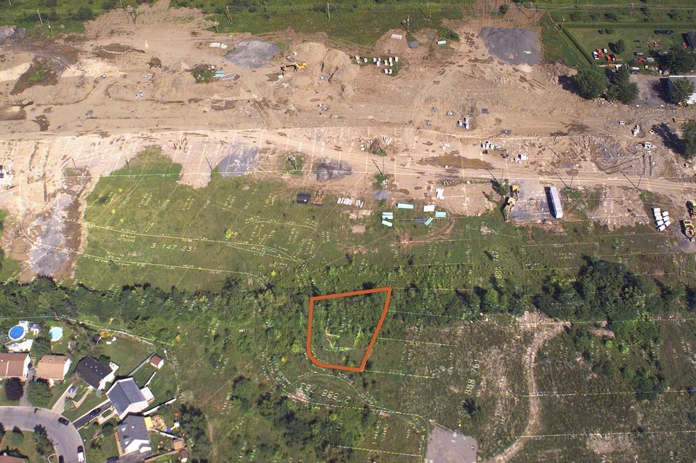 Pre-planning for residential development in Laval, Quebec