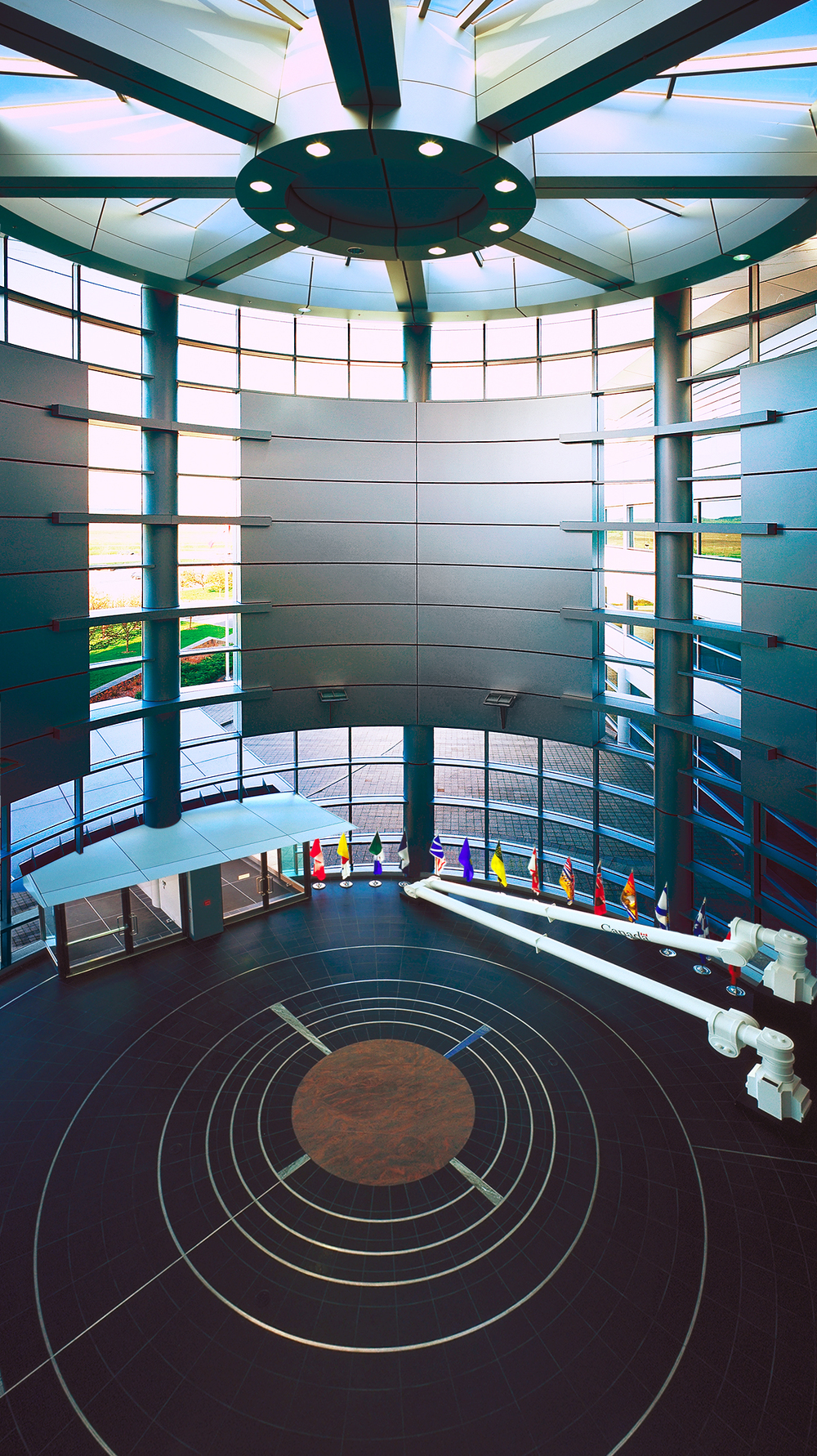 Canadian Space Agency lobby, St-Hubert, Quebec