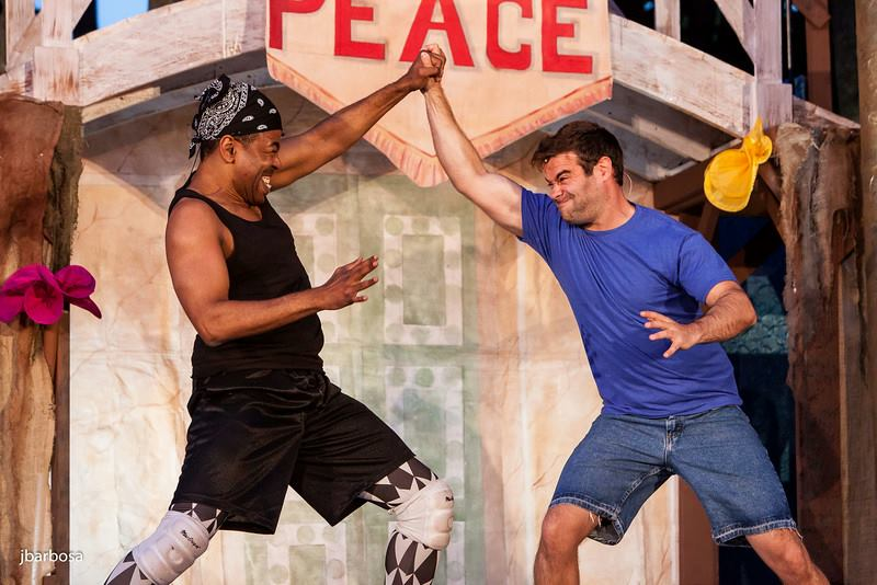 CFS Dandelions, Ian Eaton & Mark Friedlander, As You Like It, 2014. Photo by: Judy Barbosa © 2014