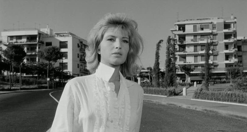Monica Vitti in  L'eclisse  (1962), dir. Michelangelo Antonioni.