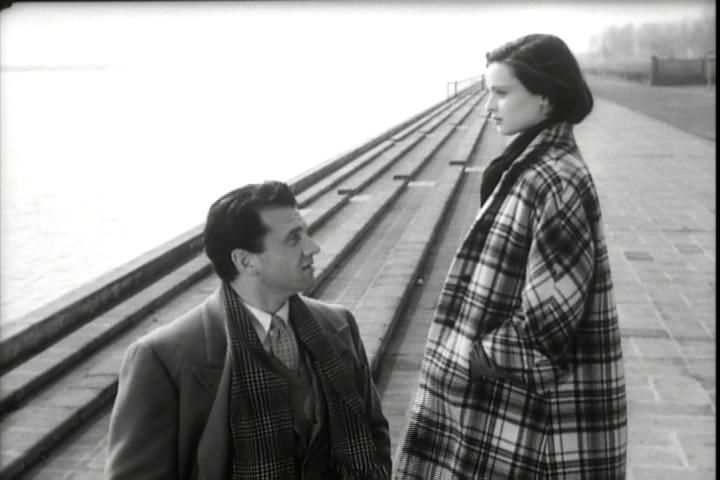 Paola (Lucia Bosè) and Guido (Massimo Girotti) in  Cronaca di un Amore , 1951, dir. Michelangelo Antonioni