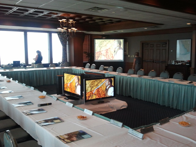 Tony Crews ~ University Club - We have worked with Visual Advantage for many, many years.  They are always the utmost professionals.  We do not call anyone else for our AV needs an I suggest