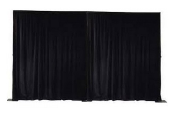 Pipe & Drape Rentals - Pipe & drape backdrops are a beautiful way to add elegance to your corporate event, gala, charity event or wedding. Our pipe & drape rentals give you an easy way to transform the look of any event space. Divide a room, cover a wall or create a stunning focal point. Add some uplighting & turn an ordinary setting into a professional & clean-looking event.