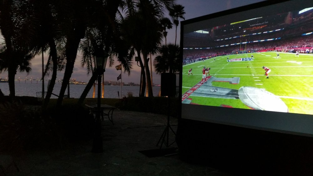 Personal Events   Super Bowl - Special Occasion - Movie Night - Wedding Reception - Party  Tampa | St. Petersburg | Orlando