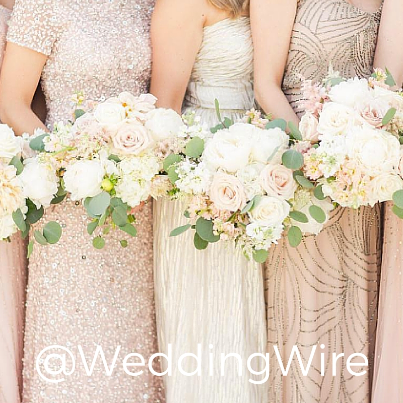 Wedding Wire is a visual masterpiece. Every picture is more fun than the last. Truly a joy to follow.