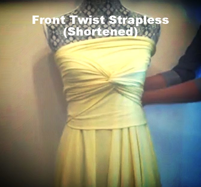 Front Twist Strapless (Tall)