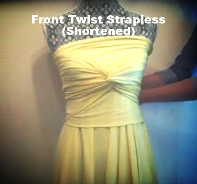 Front Twist Strapless (Tall)