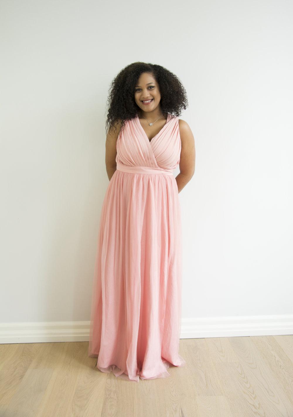 Calyssa - Shown in Blush Pink