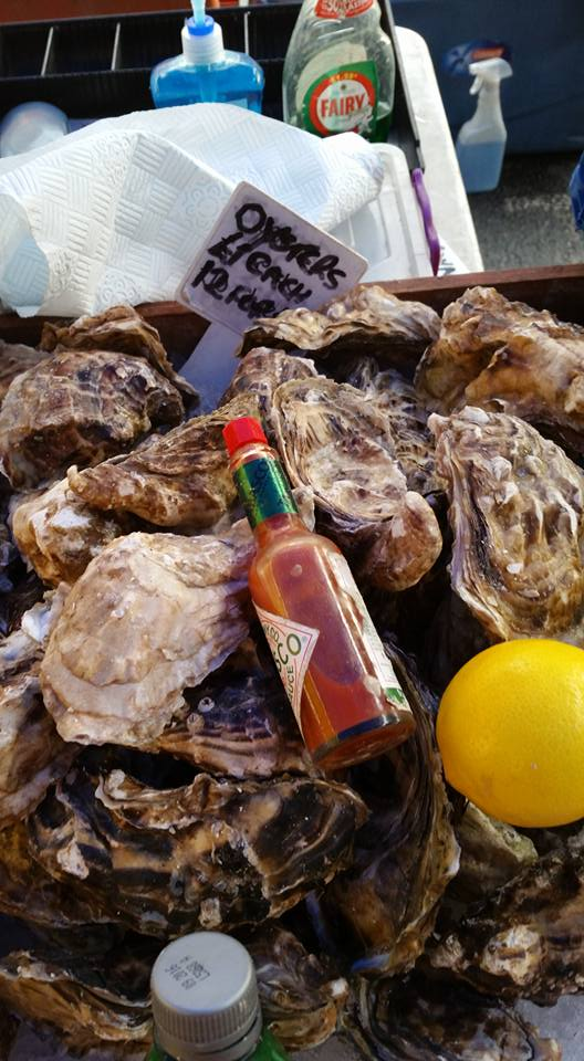 Oysters from Ealing Farmers Market