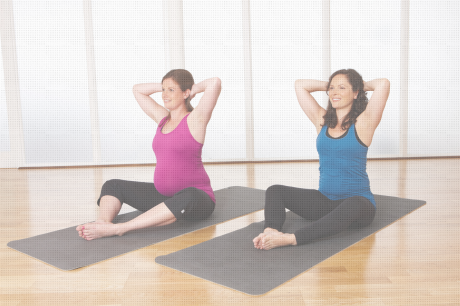 Antenatal pilates class with PilatesMan, Ealing