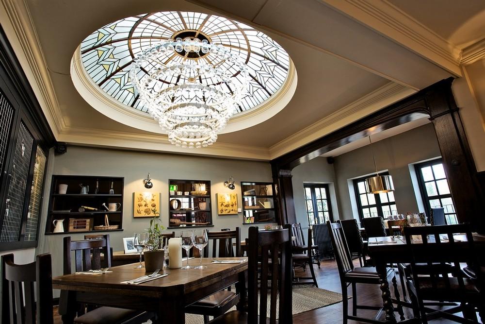 Seating area at The Duke of Kent pub, Pitshanger Lane, Ealing