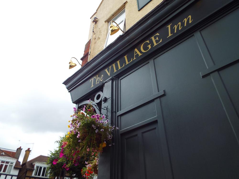 The outside of The Village Inn pub, Pitshanger Lane, Ealing
