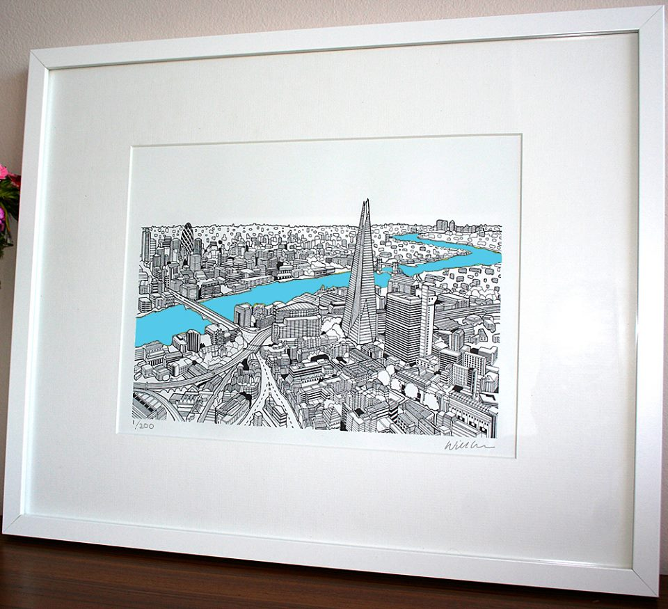 London print sold in Mooch, Ealing