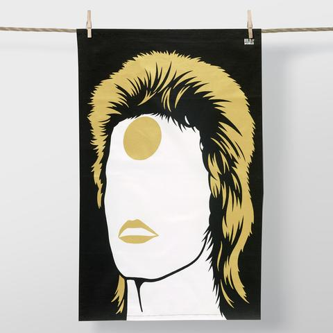 David Bowie tea towel from Kaboodles