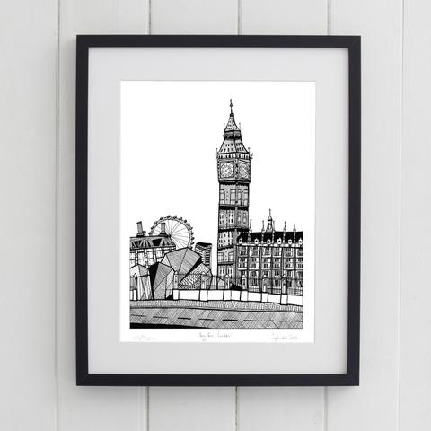 Print of Westminster from Kaboodles