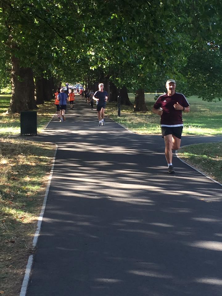 Pitshanger park runners, Ealing