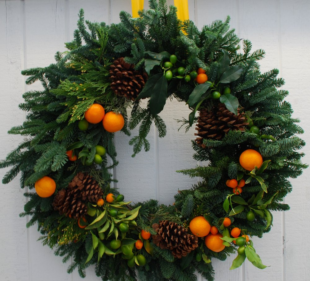 Image source -  www.thecrackedpot.co.uk/christmas-wreath-workshop/