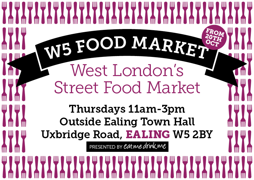 W5 Food Market - West London's Street Food Market - Outside Ealing Town Hall