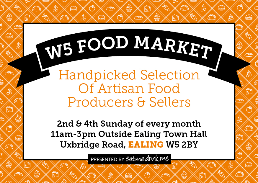 W5 Food Market - Handpicked selection of Artisan food producers and sellers, Ealing Broadway Shopping Centre