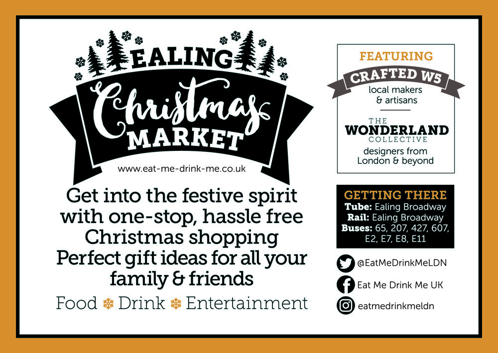 Ealing Christmas Market - Get into the festive spirit with one-stop hassle free Christmas shopping