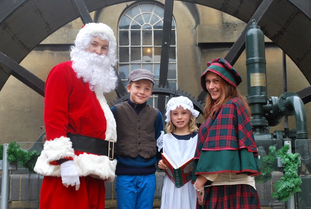 Victorian Christmas at the London and Water Museum, Brentford
