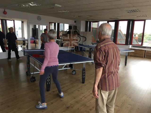 Table tennis club Ealing