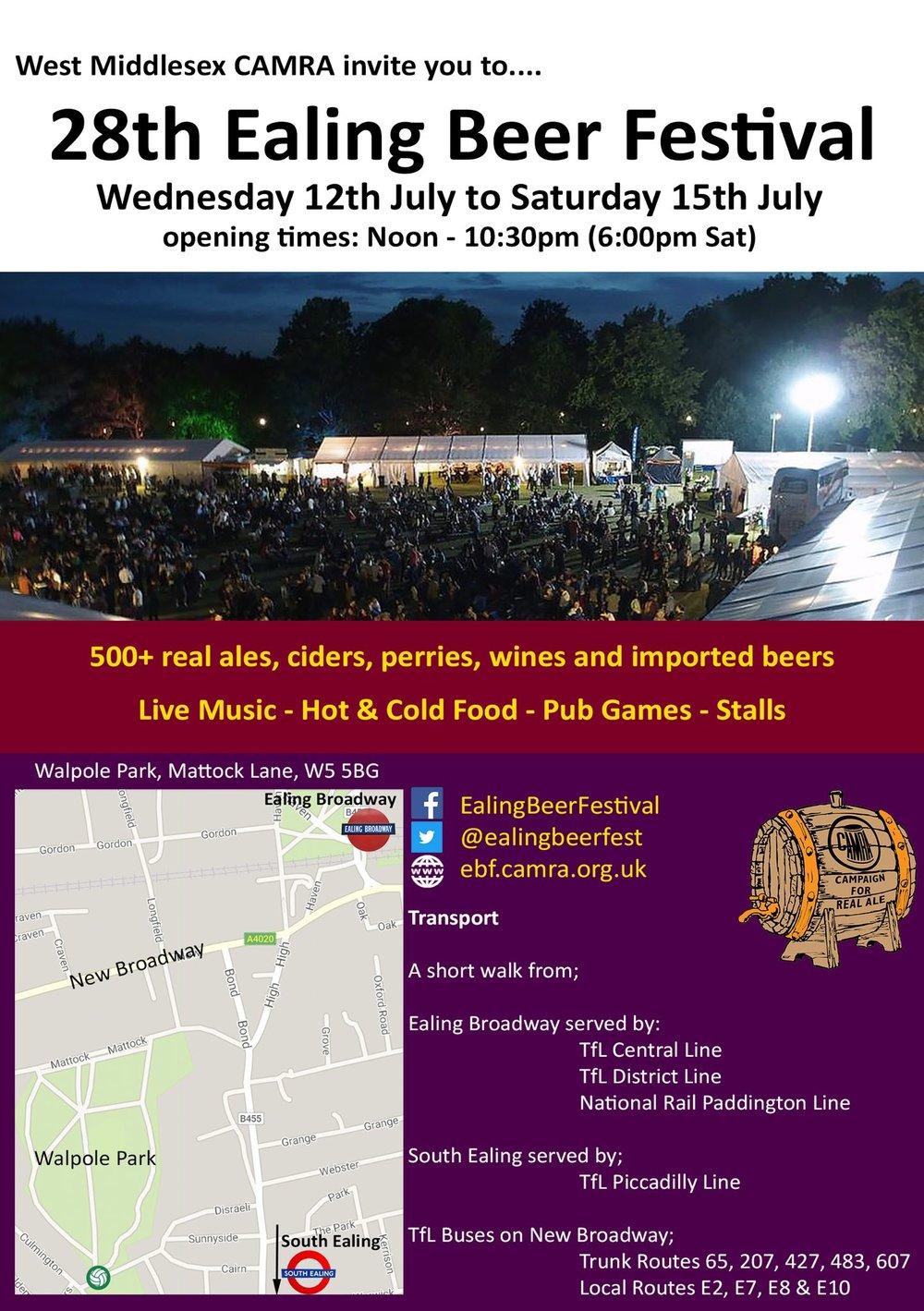 Ealing Beer Festival