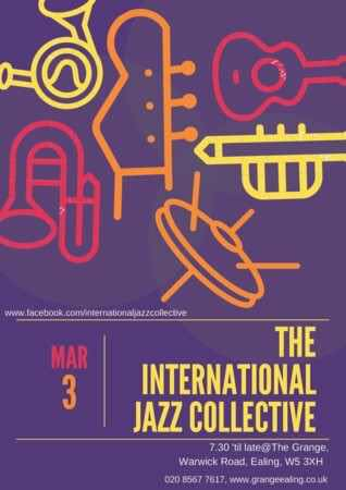 The International Jazz Collective, The Grange, Ealing
