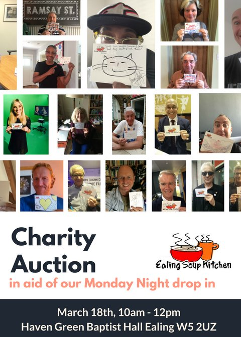Ealing Soup Kitchen Charity Auction