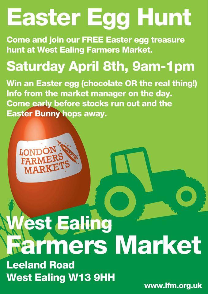 Ealing Farmers Market Easter Egg Treasure Hunt