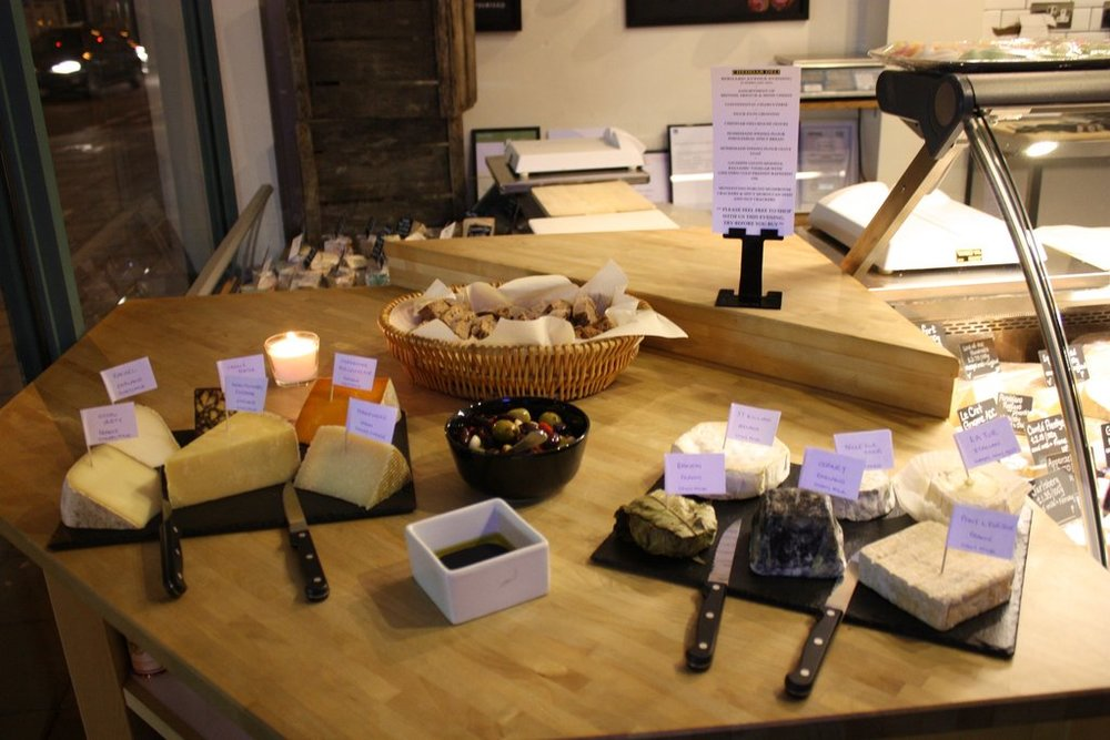 Introduction to cheese & wine pairing, Cheddar Deli, Northfields, Ealing