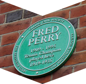 Fred Perry The Brentham Club